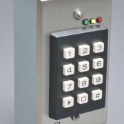 """""""Access Control Keypad"""" rigged for simulated (self contained) operation."""