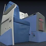Airline Seat design visualization.