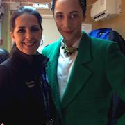 Rhonda styled Johnny Weir for Olympics in Russia