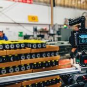 Blackmagic Pocket Cinema Camera slider shot