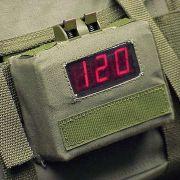 Countdown Timer LED display detail.