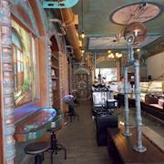 Permanent Themed Enviroment steam Punk Decor for Donut shop