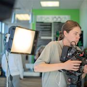 On Set With The RED Epic-X :)