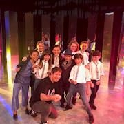 """THAT'S A WRAP!! With the cast after working on a few episodes of the new PBS Kids Show """"KidStew"""" created by James Patterson."""