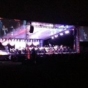 Showtime! - Tanglewood 2013 with the Linn University Orchestra - Boca Raton, FL