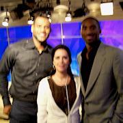 Rhonda styled LeBron James and Kobe Bryant at the Olympics