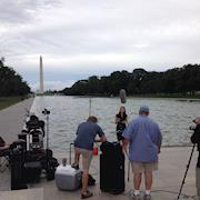 Filming in DC