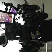 Canon C300 mkII on set