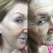 SFX Ageing Makeup