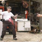 Body Hit at FX Stunt School in Atlanta, GA