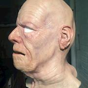 Flesh Tone Painted Silicone Mask