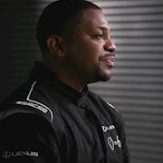 Key Makeup Artist. Male Grooming On Mekhi Phifer for Lexus 0 To 60 Celebrity Racing Competition