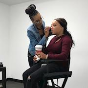 """Doing Meesha's Makeup from the R&B group """"702"""""""