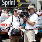 Shooting NASCAR races