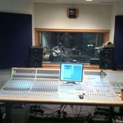 Recording in The Waylon studio