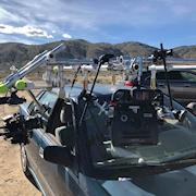 Car rig built by Myles Smythe (DOP) for Desert Shadows.