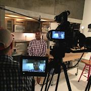 Two camera one-shot at South Coast Studio in Bellaire, Texas