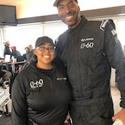 Key Makeup Artist. Male Grooming On John Salley for Lexus 0 To 60 Celebrity Racing Competition