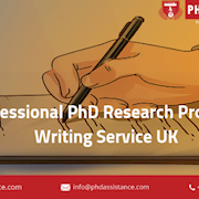 Professional PHD Research Proposal Writing Service UK