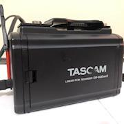 Tascam DR60 back side & battery compartment