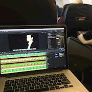 Editing 'on-the-fly' literally while heading back from Guyana to DFW.