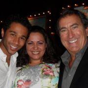 MTA client Liz Imperio with Corbin Blu and Kenny Ortega.
