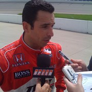 Helio Castroneves for Speed Center on SPEED.