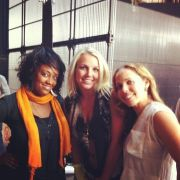 MTA Choreographers Chonique and Lisette with Britney Spears