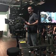 Ethan at the International Cinematographers Guild master class 2018.