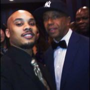 Anwar L. Counts (left) and Russel Simmons (right)