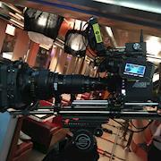 Alexa Mini w/Angenieux 17-102mm T2.9 on set in Jersey City