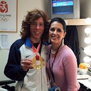 Rhonda styled Gold Medal winner, Shaun White