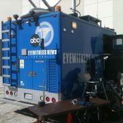 Working with ABC 7 to capture multi-camera shoot and stream to company website live