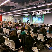 Conference at Facebook Headquarters