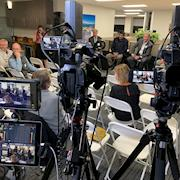 Filmed panel discussion for architectural company CRB in Emeryville