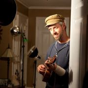 "ukulele djim on set of ""wingman"""