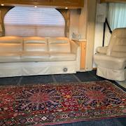 Large couch and captains' chairs