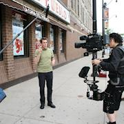 Steadicam operation in Chicago for broadcast television series.