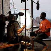 """BTS of """"Undrafted NFL Network"""""""