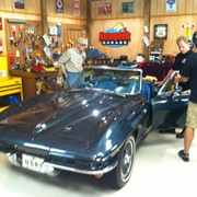 On The Set of My Classic Car with Dennis Gage.  MCC airs on Velocity.