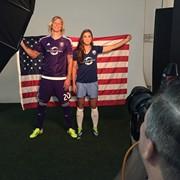 BTS- Photoshoot promo photos for the new Orlando Pride Soccer Team