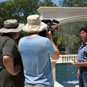 "Producing a ""Cool Pools"" segment for HGTV"