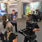 Hired Steadicam operator on a shoot for Hewlett Packard.