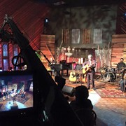 Shooting with Bill Gaither and former Statler Brother member Jimmy Fortune with our Jimmy Jib