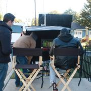 On the set of Departure
