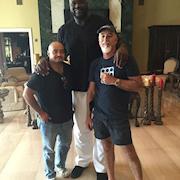 NBAtv for Shaq at his house
