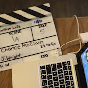Sometimes the slate is a prop.
