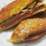 Vegetarian Pressed Cuban Sandwich