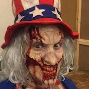 Zombie Uncle Sam Chiller 2016