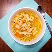 Vegan Chick'n Noodle Soup